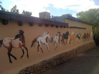 Horses on Ledoux